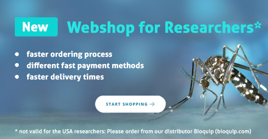 Biogents new webshop for researchers