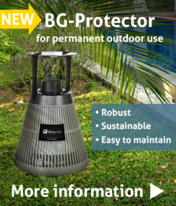 New! The BG-Protector was developed for professional and permanent outdoor use