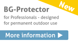 New! BG-protector for permanent outdoor use