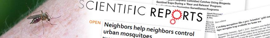 Biogents Webseite bietet Infromationen zu Stechmücken, Studien zu den Mückenfallen, News, Pressemitteilungen und Videos zu den Mückenfallen.