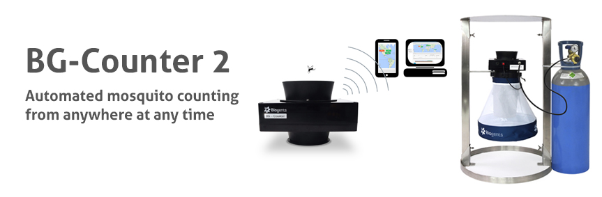 BG-Counter: Automated mosquito counting from anywhere at any time