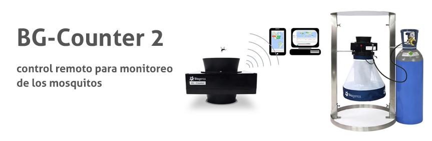 BG-Counter 2 control remoto para monitoreo de los mosquitos