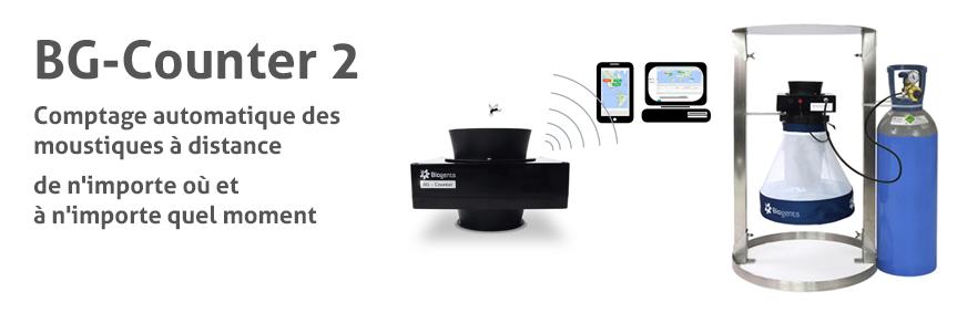 BG-Counter: Comptage automatique des moustiques à distance de n'importe où et à n'importe quel moment