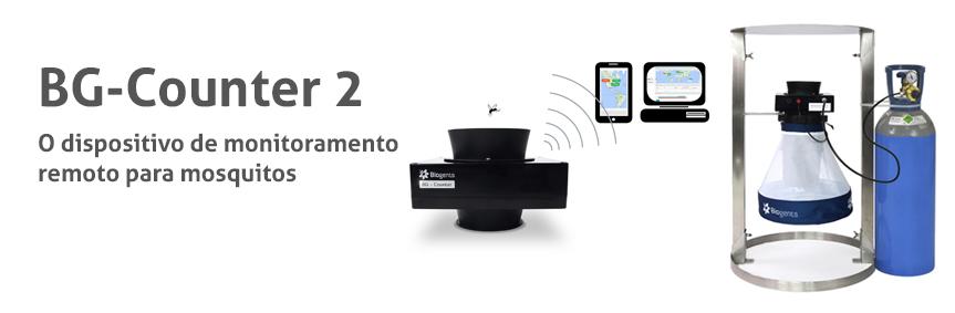 BG-Counter 2 O dispositivo de monitoramento remoto para mosquitos