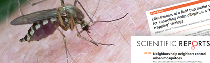 Information on Biogents News, Publications a and All About Mosquitoes
