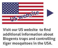Visit Biogents US website to find additional information about our traps and tiger mosquito control in the USA.