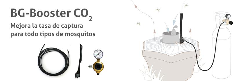 BG-Booster CO2: Mejora la tasa de captura para todo tipos de mosquitos