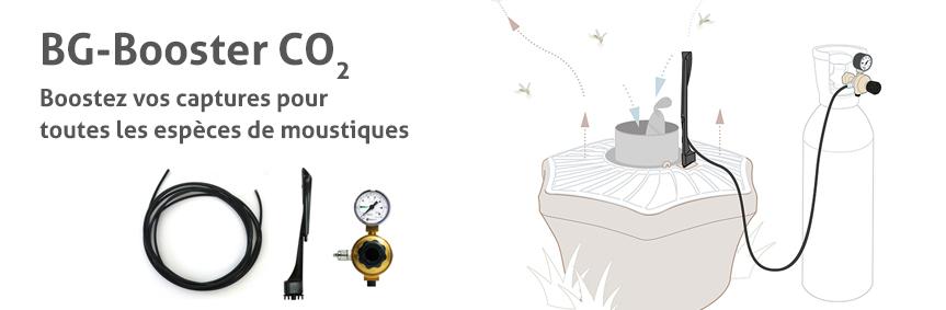 BG-Booster CO2: Boostez vos captures pour  toutes les espèces de moustiques