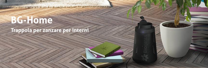 BG-Home, trappola per zanzare per l'uso in ambienti interni