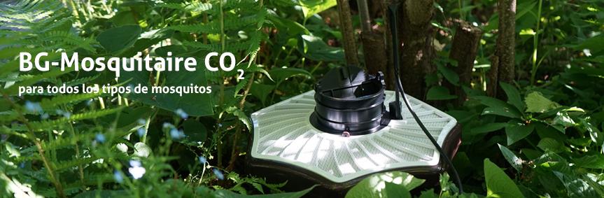 La trampa BG-Mosquitaire CO2 para todos los tipos de mosquitos