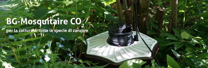 BG-Mosquitaire CO2 per la cattura di tutte le specie di zanzare