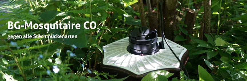 Die BG-Mosquitaire CO2-Mückenfalle gegen alle Stechmückenarten