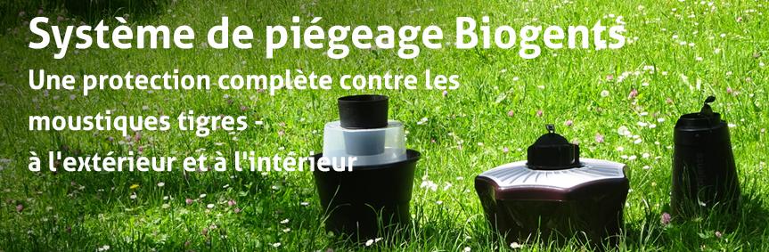 Système de piégeage Biogents - Une protection complète contre les moustiques tigres - à l'extérieur et à l'intérieur