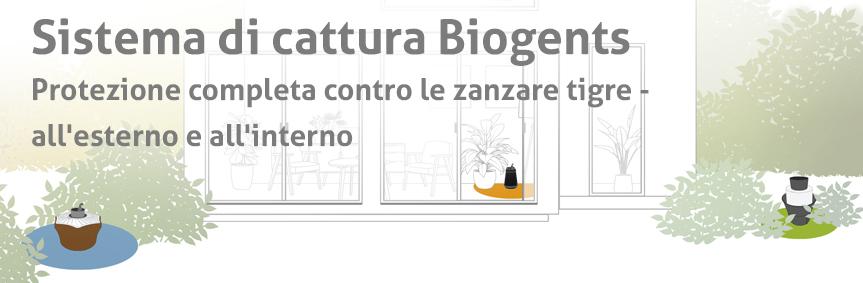 Sistema di cattura Biogents