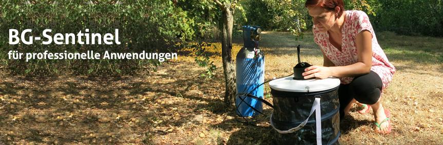 Die BG-Sentinel mit CO2 gegen Stechmücken aller Art