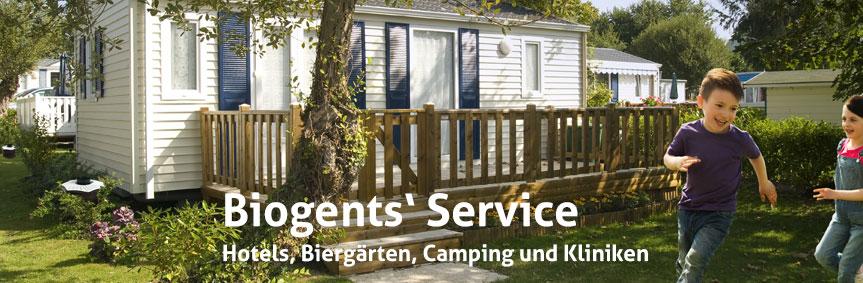 Biogents bietet in Deutschland ein integriertes Stechmücken-Management für Hotels, Biergärten, Camping und Kliniken an.