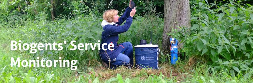 Biogents Service für Monitorings