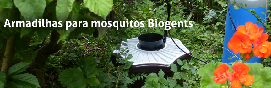 Biogents mosquito traps - eco-friendly and with scientific proof, example BG-Mosquitaire CO2 against all mosquito species
