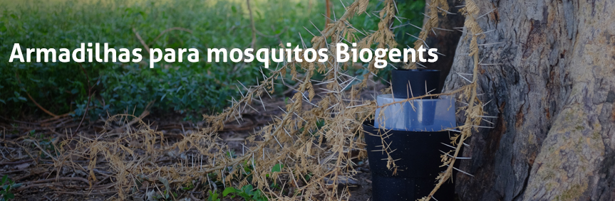 Biogents mosquito traps - eco-friendly and with scientific proof, example BG-GAT for professionals, developed for gravid Aedes mosquitoes