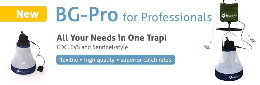 BG-Pro: A new modular trap for professionals. All your needs in one product. CDC, EVS, and Sentinel-style: flexible, high quality, superior catch rates