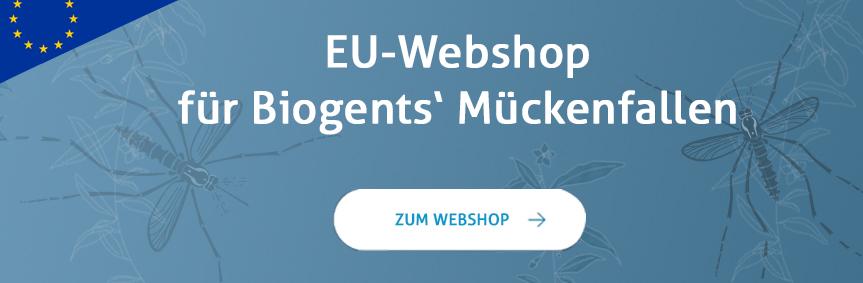 Biogents EU-Webshop für Mückenfallen