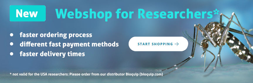 New Biogents webshop for researchers